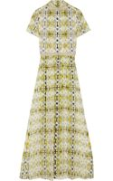 Theyskens' Theory Dello Printed Silkchiffon Maxi Dress - Lyst