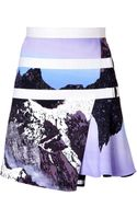 Peter Pilotto Printed Wrap Skirt - Lyst