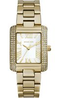 Michael Kors Petite Golden Stainless Steel Emery Three-hand Glitz Watch - Lyst