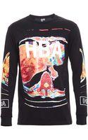 Hood By Air Brain Scan Jersey Long Sleeve Tshirt - Lyst