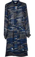 Kenzo Cloud Print Dress - Lyst