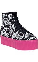 Jeffrey Campbell Hiya Platform Sneaker Hawaiian Fabric - Lyst