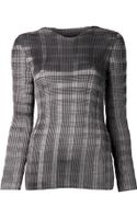 Alexander Wang Pleated Top - Lyst