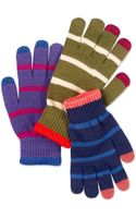 Sperry Top-sider Sperry Wool Blend Magic Tech Touch Gloves - Lyst