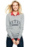 C. Wonder Embellished Crown Intarsia Sweater - Lyst