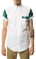 Apliiq The Dutchworthy Short Sleeve Buttondown - Lyst