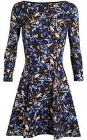 Erdem Vivi Floral Print Dress - Lyst