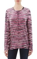 Proenza Schouler Long Sleeve Tie Dye T-Shirt - Lyst