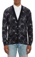 Marc By Marc Jacobs Snake-print Cotton Cardigan - Lyst