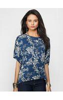Denim & Supply Ralph Lauren Floral Dolman-sleeved Tee - Lyst