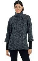 Calvin Klein Asymmetrical Cinzia Tweed Jacket - Lyst
