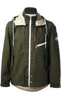Moncler Lucas Hooded Bicolour Jacket - Lyst