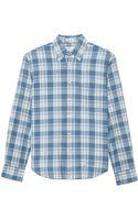 Gant Rugger Indigo Madras Shirt - Lyst