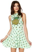 Nasty Gal United Couture Pineapple Weed Sugar Dolls Dress - Lyst