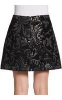 Alice + Olivia Minah Brocade Skirt - Lyst