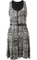 Proenza Schouler Sleeveless Tweed Dress - Lyst