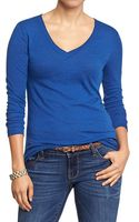 Old Navy Vintage-style V-neck Tees - Lyst
