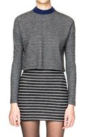 Pixie Market Aimee Stripe Two Piece Dress Set - Lyst