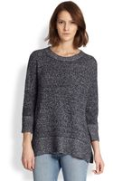 Theory Hesterly Cotton Cashmere Sweater - Lyst