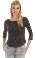 Free People Truly Madly Top - Lyst