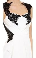 Notte By Marchesa Lace Applique Gown - Lyst
