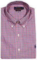 Polo Ralph Lauren Shirt Botton Down Multicolor Mini Check Slim Fit - Lyst