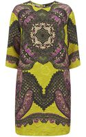 Etro Paisley Brocade Tunic Dress - Lyst