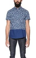 Native Youth Floral Print Shirt - Lyst
