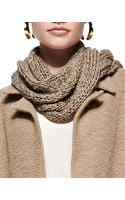 Eileen Fisher Fuzzy Fine Open Twist Scarf - Lyst