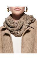 Eileen Fisher Fuzzy Fine Open Twist Scarf - Lyst