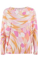Emilio Pucci Patterned Top - Lyst