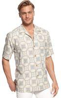 Tommy Bahama Port Medallion Silk Shirt - Lyst