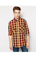 Bench Checked Shirt - Lyst