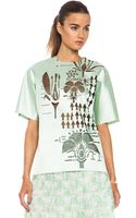 Christopher Kane Laser Cut Ingredients Poly Top - Lyst