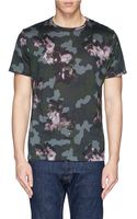 PS by Paul Smith Floral Camouflage Print T-Shirt - Lyst