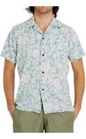 Faherty Brand Ss Hawaiian Shirt - Lyst