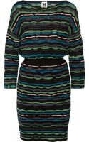 M Missoni Crochetknit Dress - Lyst