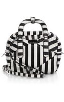 Marc By Marc Jacobs Turn Around Small Striped Shoulder Bag - Lyst