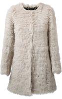 Giorgio Brato Boxy Fur Coat - Lyst
