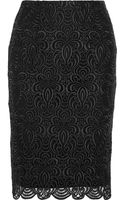 Lela Rose Guipure Lace Pencil Skirt - Lyst
