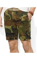 Polo Ralph Lauren Polo Big and Tall Camo Printed Shorts - Lyst