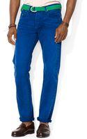 Polo Ralph Lauren Polo Varick Slim-fit Canvas Jeans - Lyst