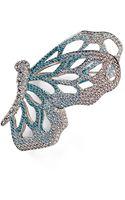 Nadri Open Wing Butterfly Pin - Lyst