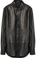 Blk Dnm 15 Leather Shirt - Lyst