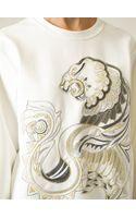Roberto Cavalli Embroidered Sweatshirt - Lyst