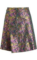 3.1 Phillip Lim Jacquard Mini Skirt - Lyst