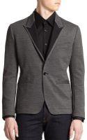 Dolce & Gabbana Contrast Peaked Lapel Blazer - Lyst