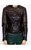 Muubaa Abila Quilted Leather Jacket - Lyst