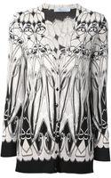 Blumarine Geometric Print Cardigan - Lyst