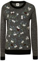 Opening Ceremony Marled Crew Neck Sweater - Lyst